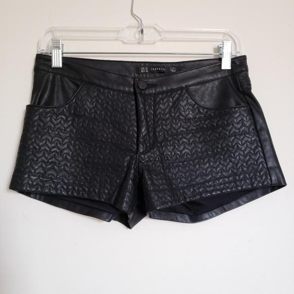 Zara Pants - Zara trafaluc black shorts xs
